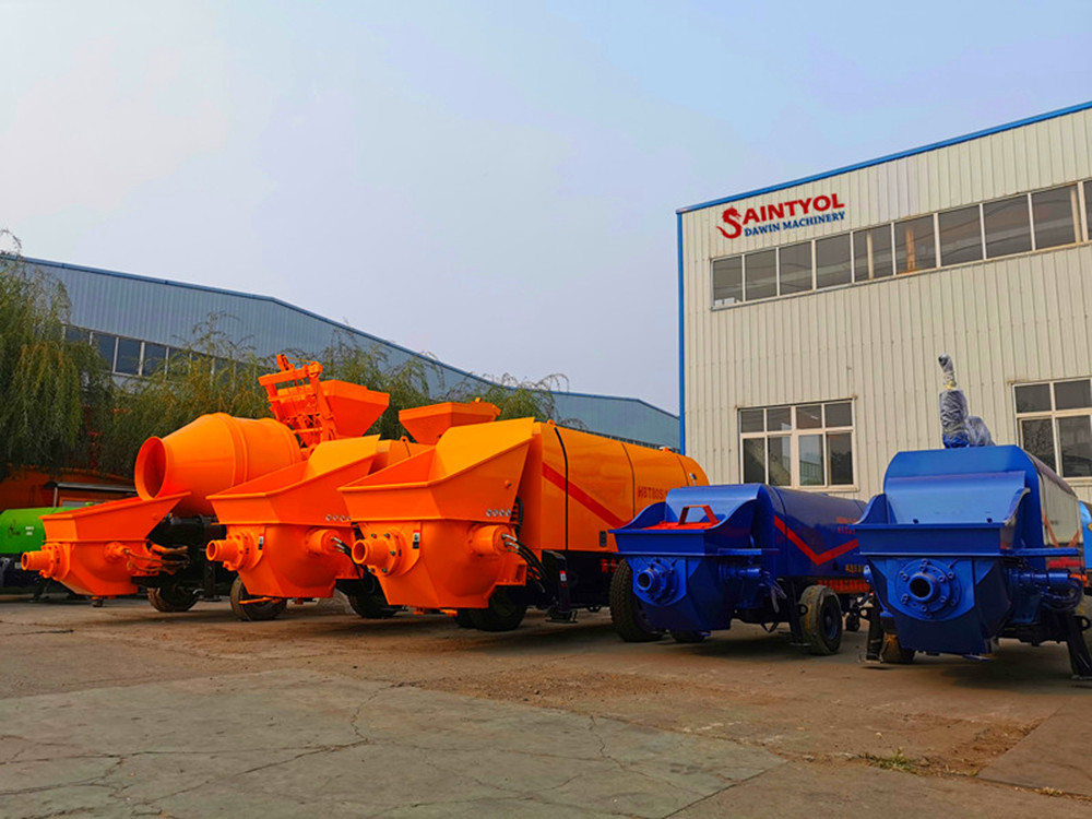 high performance stable quality concrete pump factory