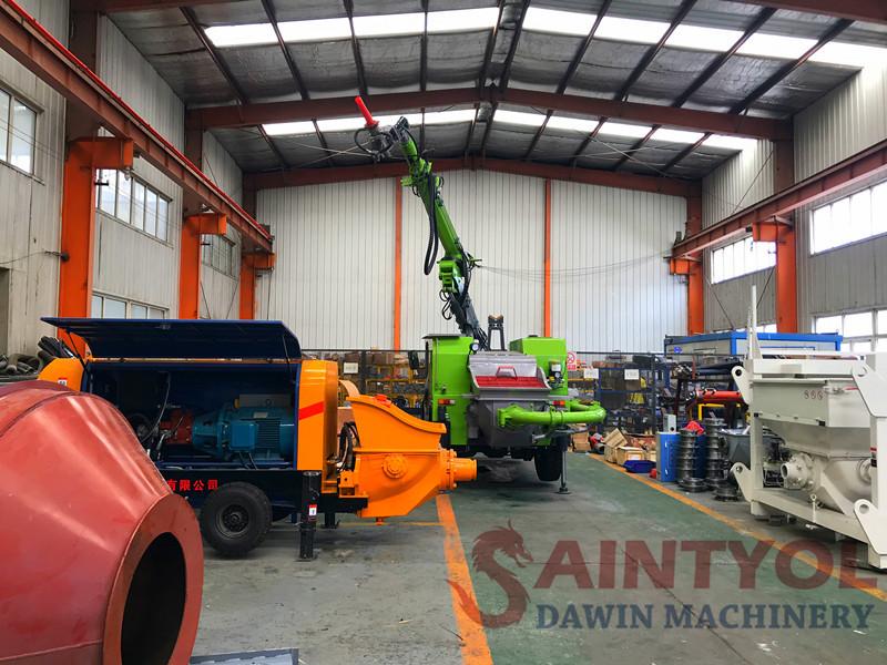 diesel concrete pump workshops
