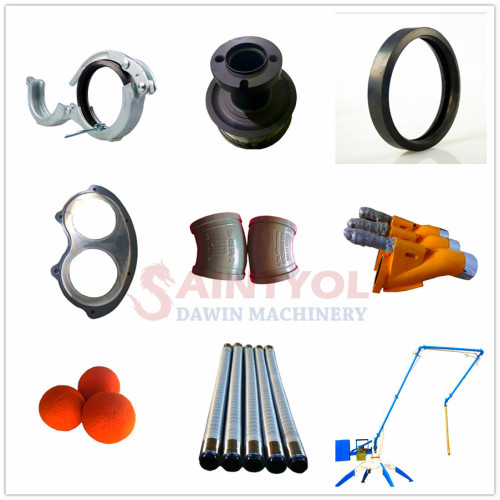 Concrete Pump Cutting Ring and Wear Plate