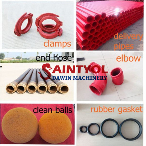Cleanout Ball Cleaning Pigs Cleaning Column Delivery Piston, Seal and Ram