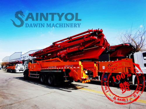 33m 4M Concrete Boom Pump Truck With Customized Chassis