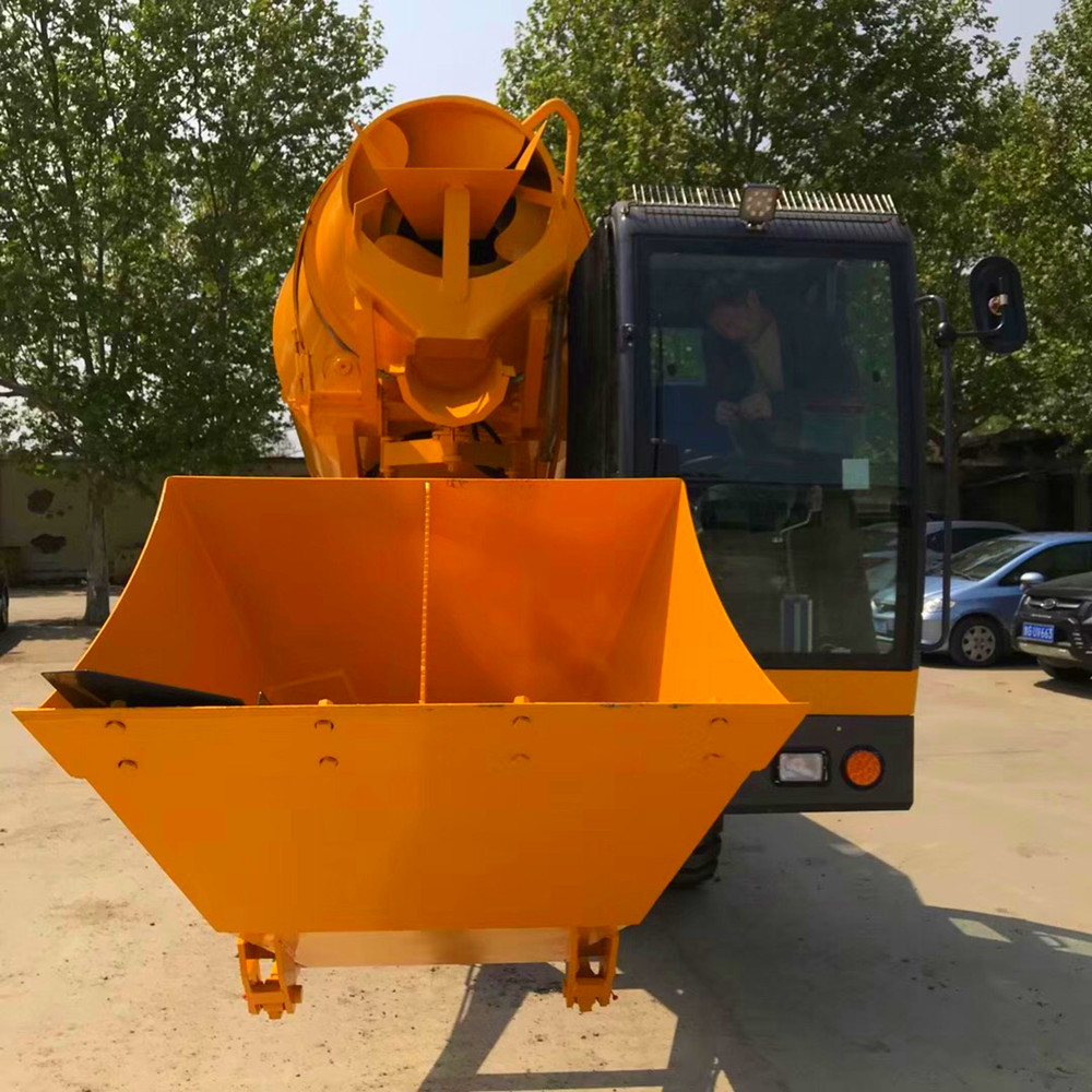 competitive self loading concrete mixer truck factory