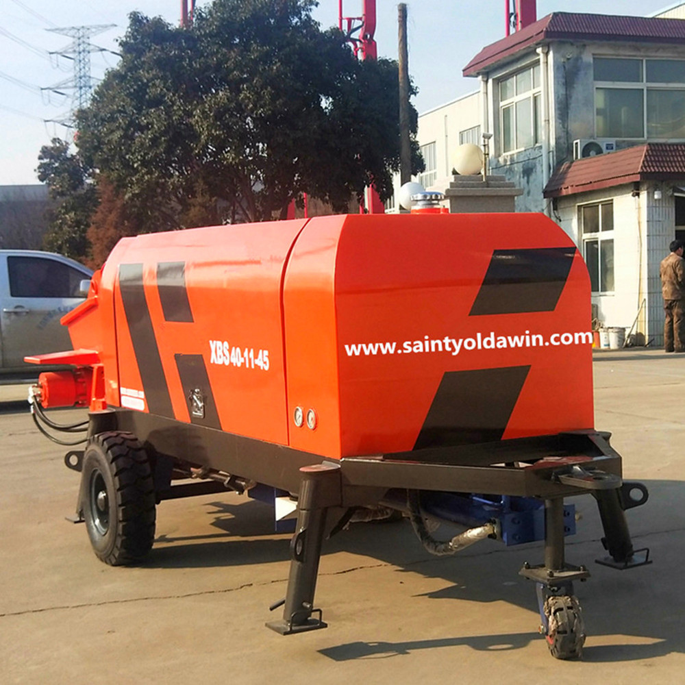 concrete pump concrete mixing pump