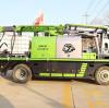 Application of wet concrete shotcrete machine spraying machine technology in tunnel construction (2)