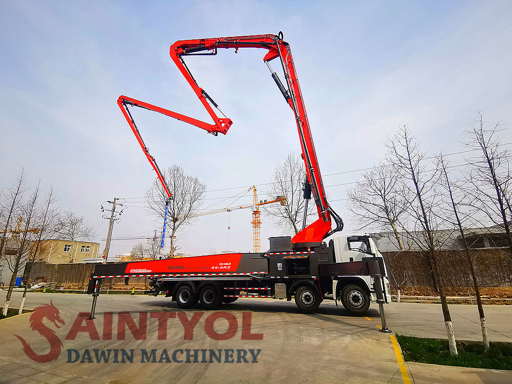boom concrete pump truck china