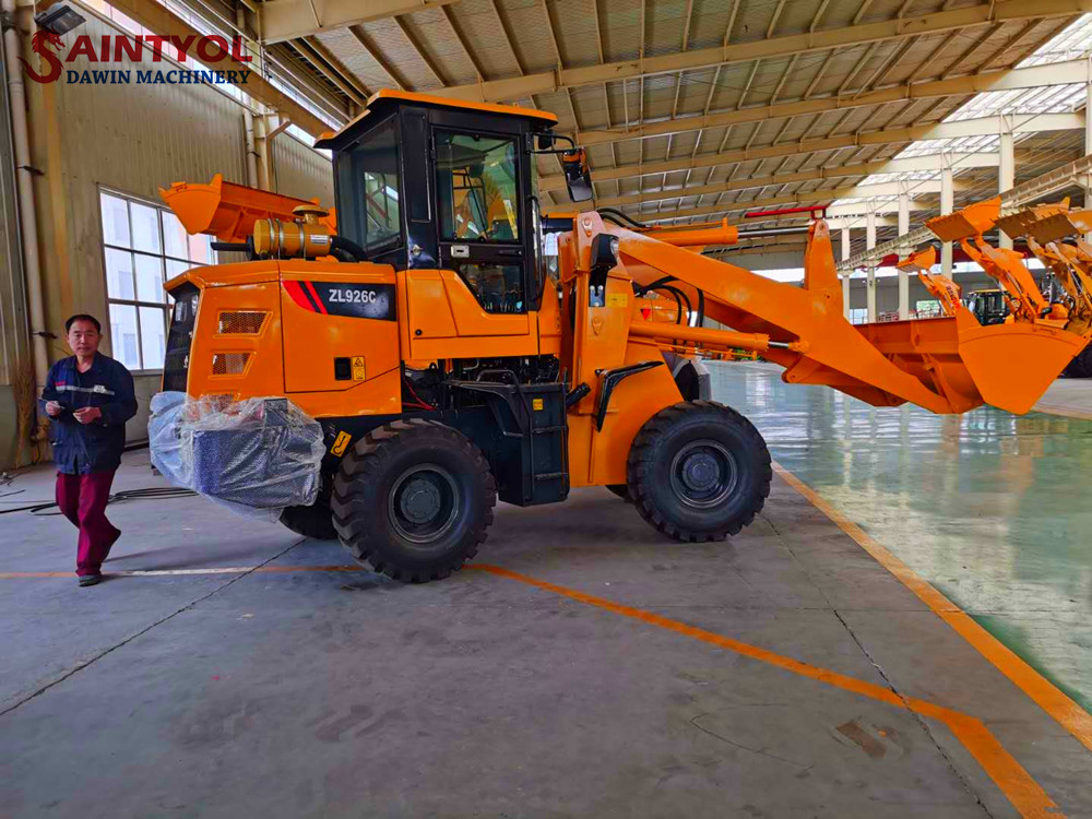 china high quality wheel loader with low price