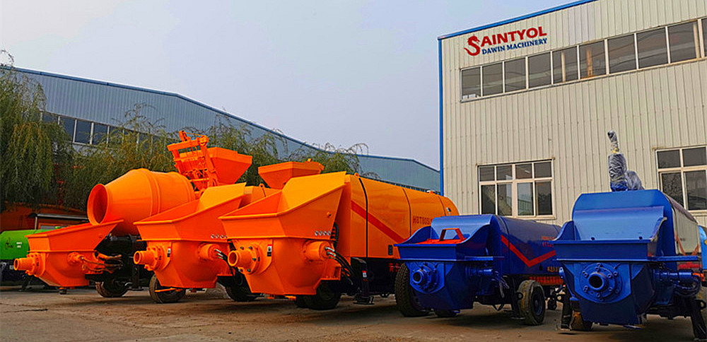 concrete pumps in stock china factory