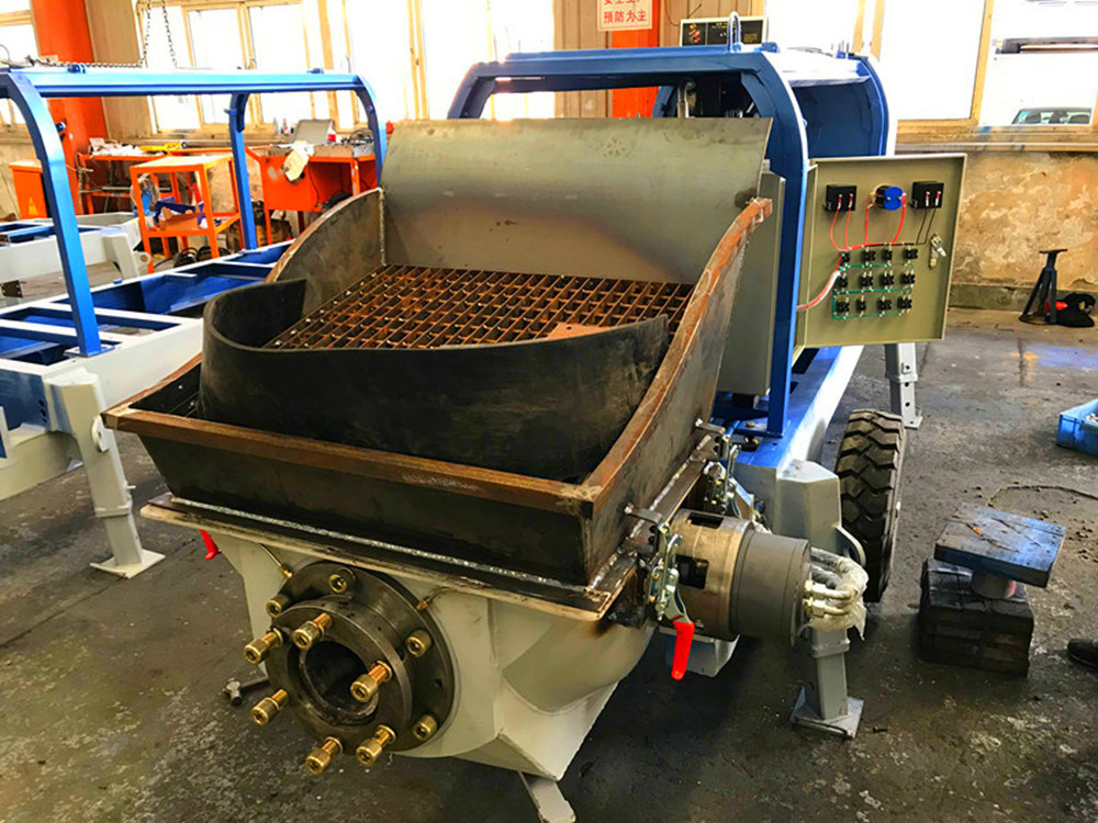 concrete pumping machine welding process