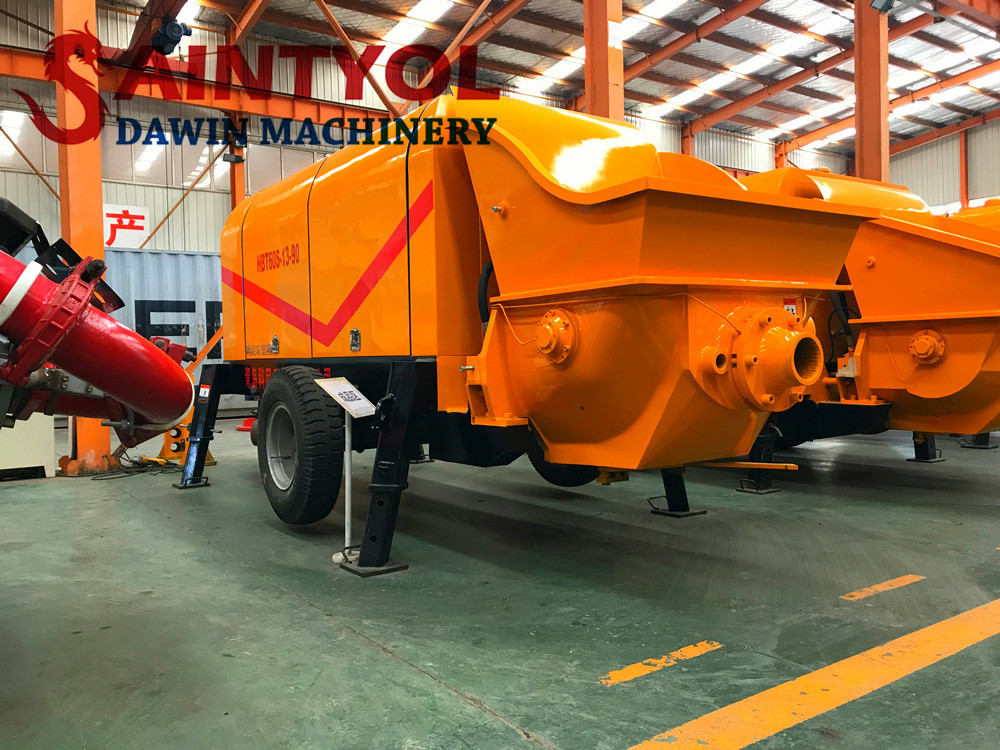 diesel concrete pump concrete delivery pump factory