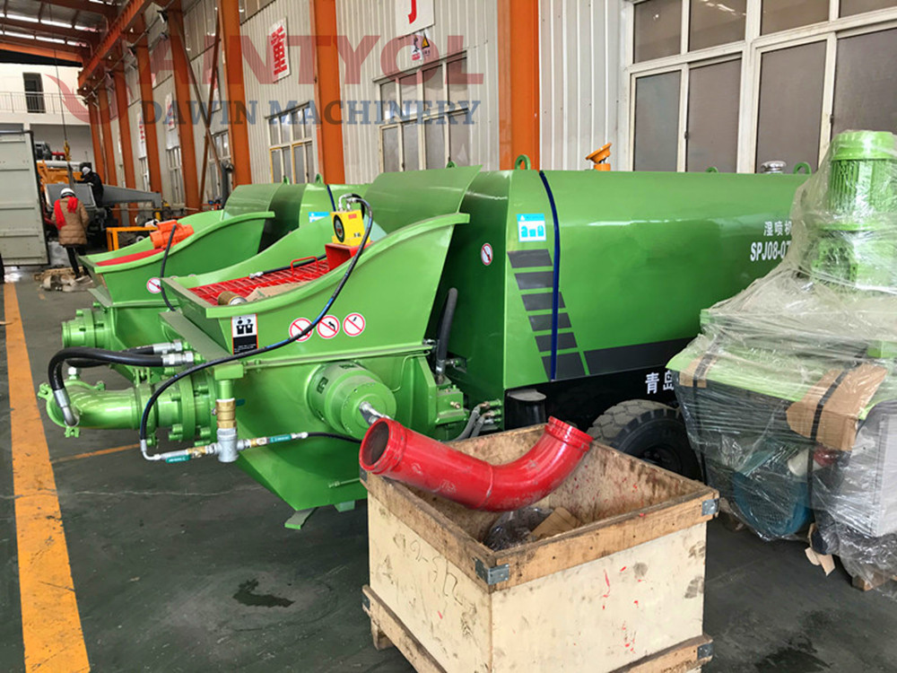 concrete delivery pump price