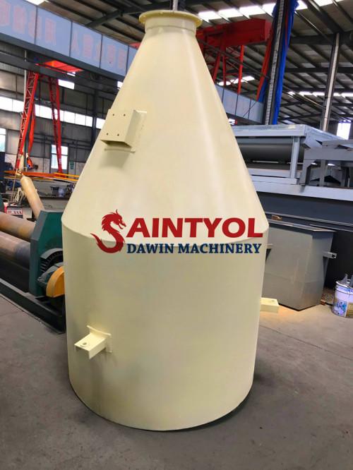 35 Ton New Design Low Profile Horizontal Cement Silo