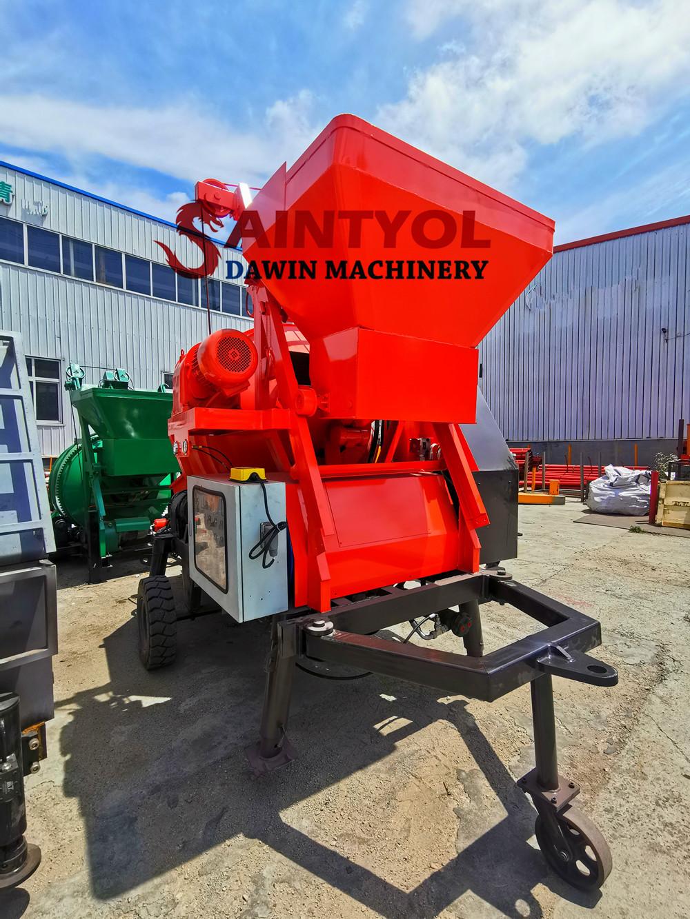 cheap price self loading concrete pump mixer