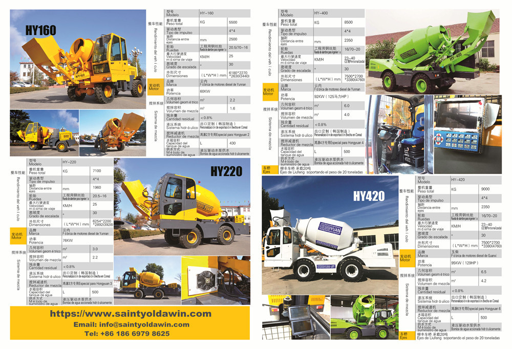 Auto Self-Loading Concrete Mixer E-Brochure