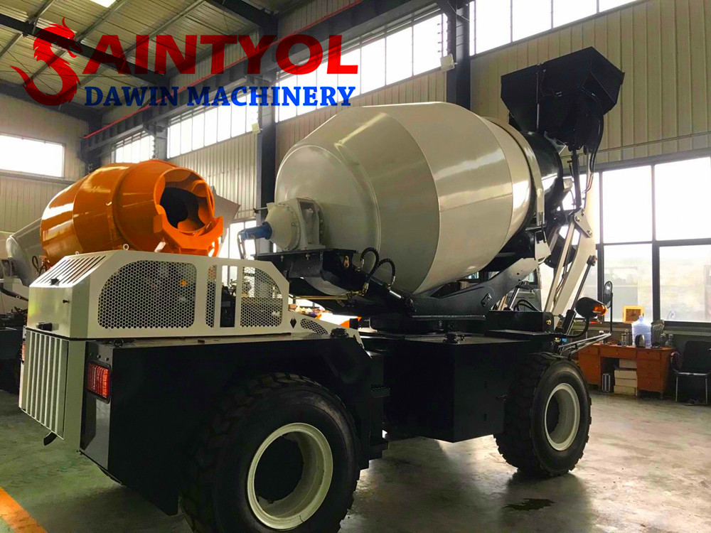 high quality self loading concrete mixer truck exporting