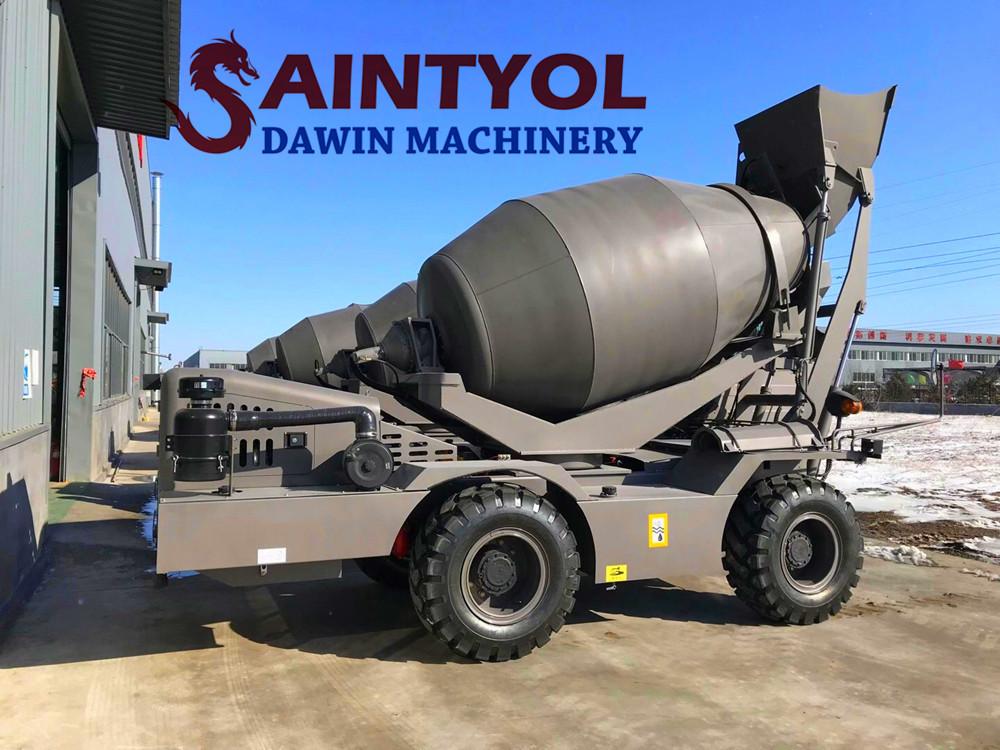 china factory self loading concrete mixer