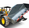 What bad conditions will you encounter when using a small loader