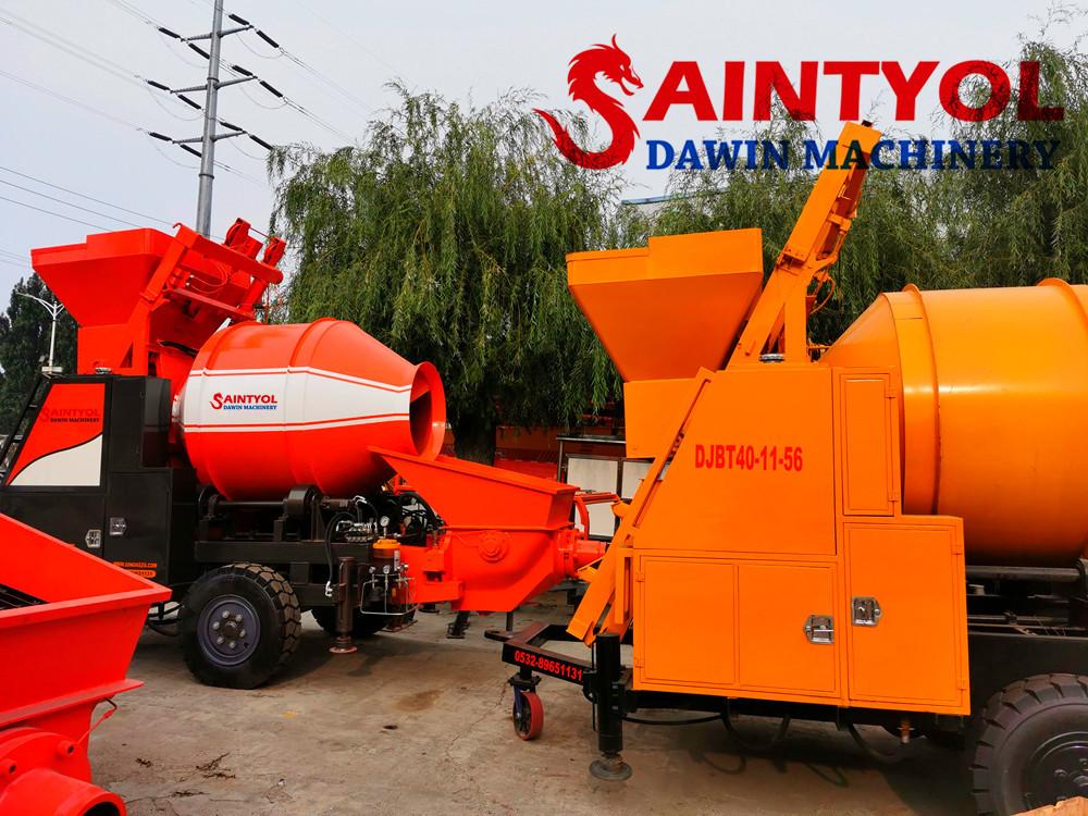 concrete mixing pump china supplier