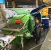 The working principle of concrete pumping wet spraying machine