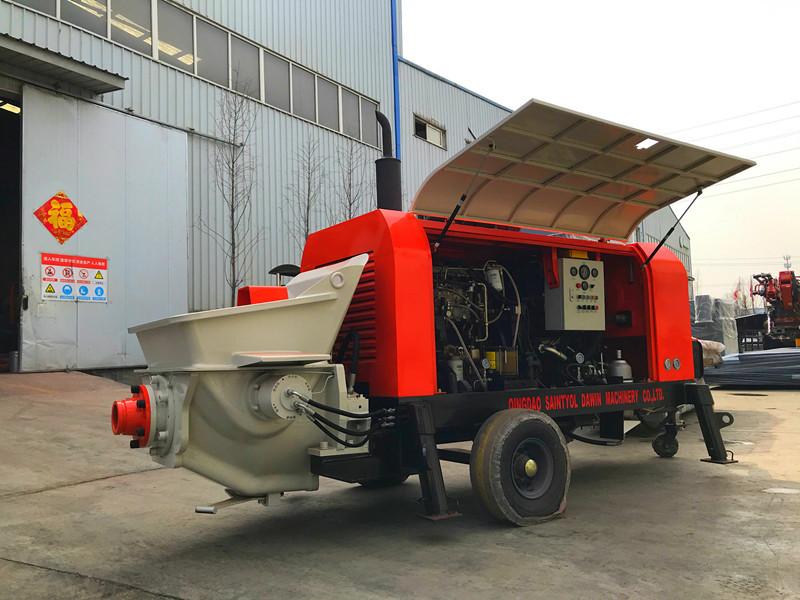 concrete pumps china supplier