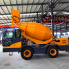 How to choose the correct volume of the automatic self loading concrete mixer?