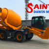 What skills do I need to master to operate a mobile self-loading concrete mixer?