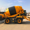 Saintyol DAWIN self-loading concrete mixer: pay tribute to everyone who has a dream, and accompany you on every journey