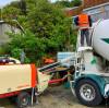Saintyol DAWIN 30m3/hr diesel concrete pump works in New Zealand projects