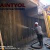 Saintyol DAWIN 8m3/hr diesel shotcrete machine wet concrete spraying machine works in Israel project