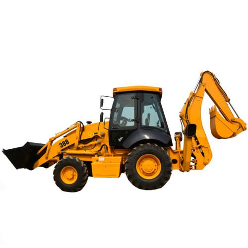 SAM388 2.5 ton backhoe loader excavator loader