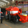Saintyol DAWIN Concrete Mixing Pump and 1.2 ton Small Wheel Loader Container Shipping to Africa.