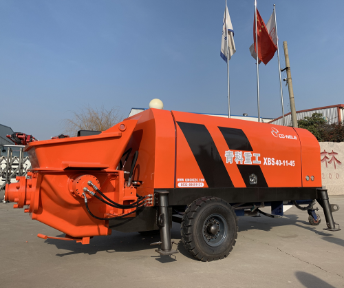 50m3/hr Trailer Concrete Pump With Diesel or Electric Power