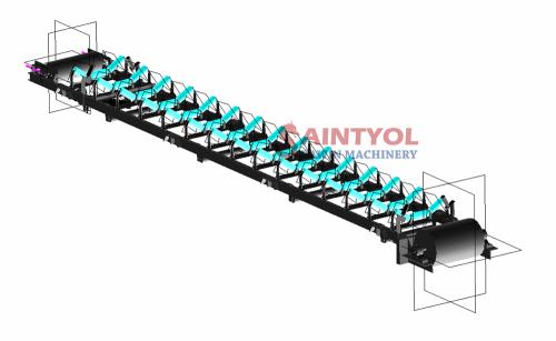 Customized Size Belt Conveyor Strap Machine