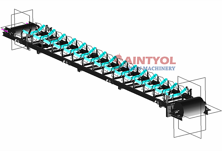 trailer mobile batching plant
