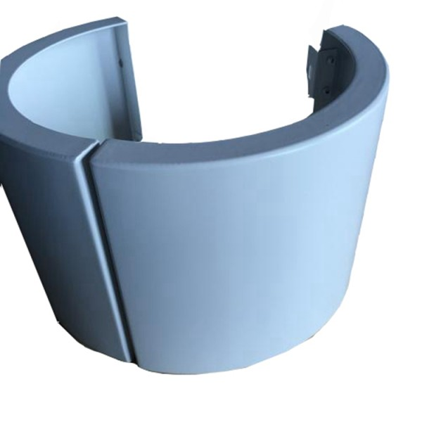 Arc shaped aluminum bendable welding decorative metal various designed sheets panels