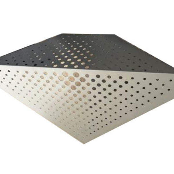 Anodic oxide sound-absorbing punching hole carved aluminum plate in scenic spot