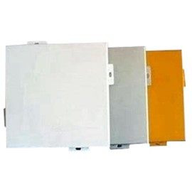 High quality  exterior and inner wall powder coating anodic aluminium veneer for scenic spot decoration