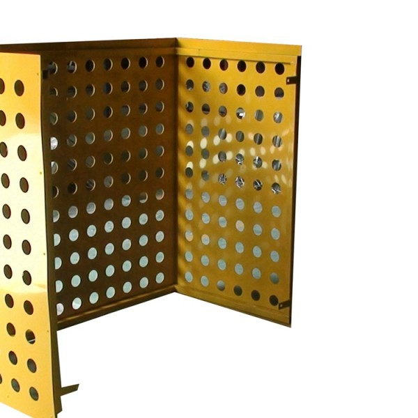 Punching arrangement perforated Air-conditioning cover aluminum veneer also for bank curtain wall