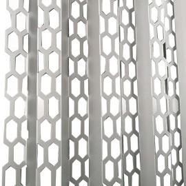 Factory direct laser cut fluorocarbon aluminum veneer Decorative aluminum plate with flower carved