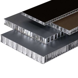 Carbon fiber honeycomb sandwich panel for decoration wall and floor