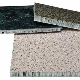 Aluminum polypropylene paper stone honeycomb panels used for decoration