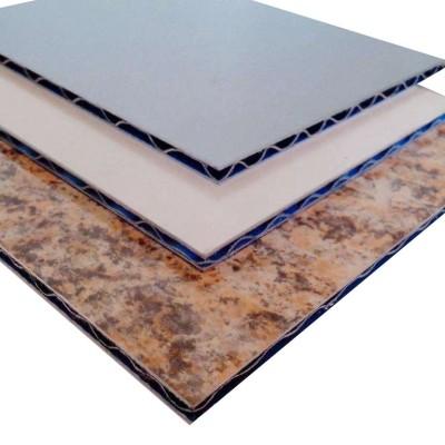 Marble Aluminium and plastic Composite board curtain wall