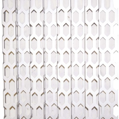 Audi aluminum roof porousexterior wall hexagonal hole aluminum panel board