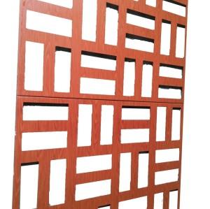 Aluminum perforated facade exterior wall  cladding panels