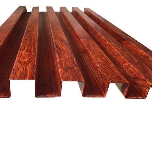AL4043 aluminum interior/exterior wall sheet with wood pattern