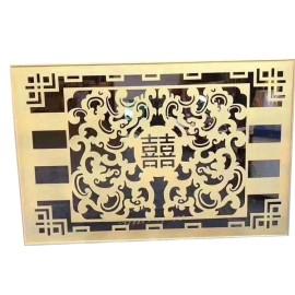 Strange shape Porch wall Gallery frame Decorative aluminum veneer