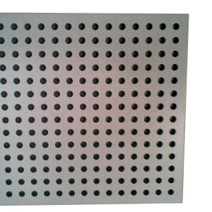 Anodizing folded alumium punching hole exterior laser cut panels for building