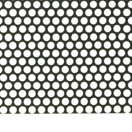 Perforated round hole metal sheet