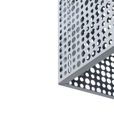 perforated metal sheet with square hole