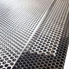 Punching hole metal mesh cladding for  balcony