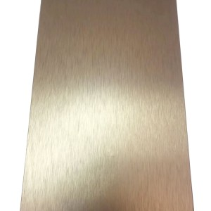 Aluminium brushed wood imitation fireproof ACP board beam